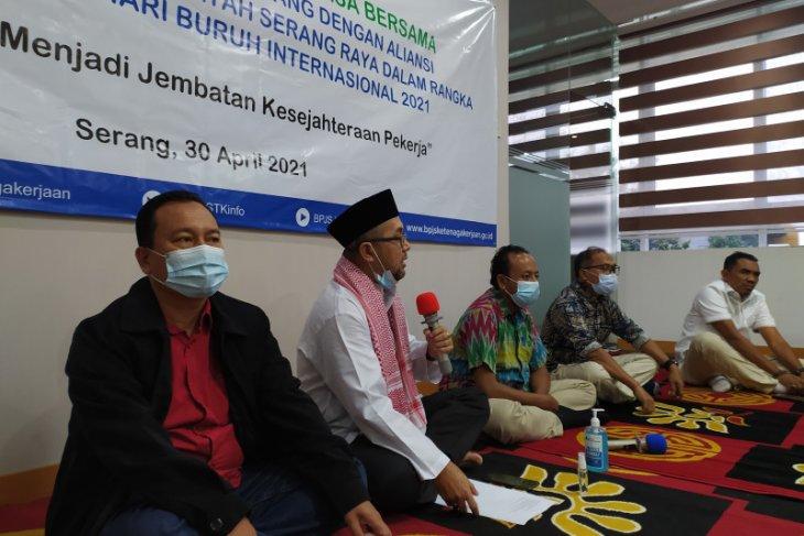 Ombudsman Banten berharap serikat pekerja sampaikan keluhan dulu ke BPJAMSOTEK