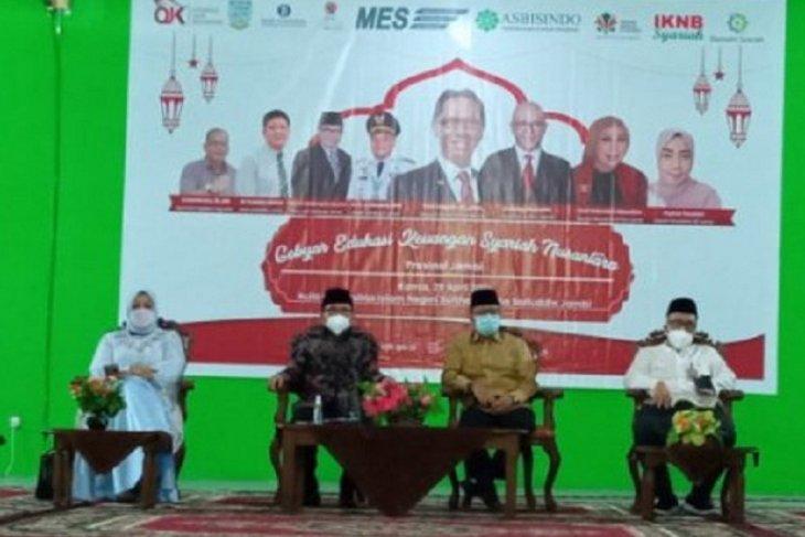 Tingkatkan literasi dan inklusi keuangan OJK Jambi gelar gebyar edukasi keuangan syariah nusantara