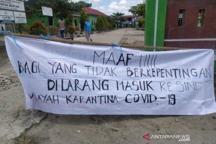 Satgas COVID-19 terapkan PPKM di enam desa Kabupaten Bangka