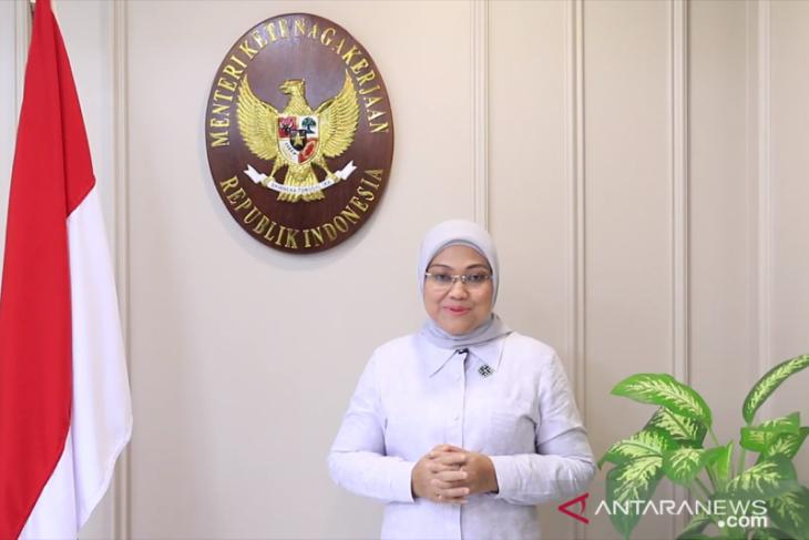 Menaker Ida Fauziyah harapkan peringatan Hari Buruh 2021 diisi kegiatan positif