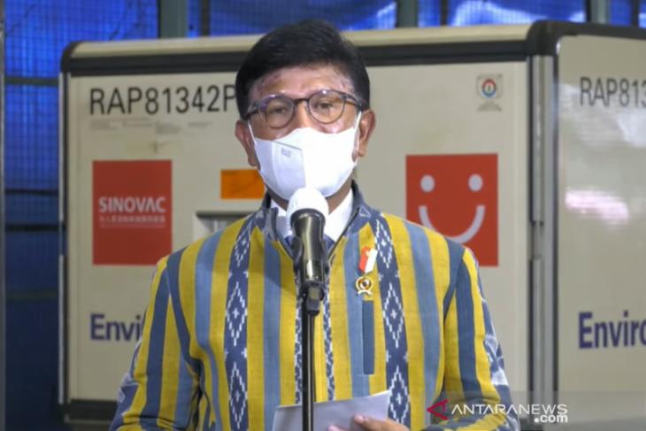 Indonesia menerima 6,48 juta vaksin COVID-19 Sinovac dan Sinopharm