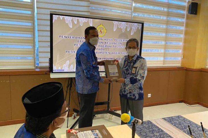 Aceh Timur raih opini WTP ketujuh kali berturut-turut