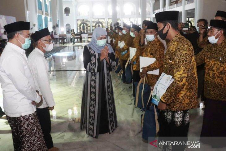 Ribuan hafiz dan hafizah di Jatim dapat tunjangan kehormatan