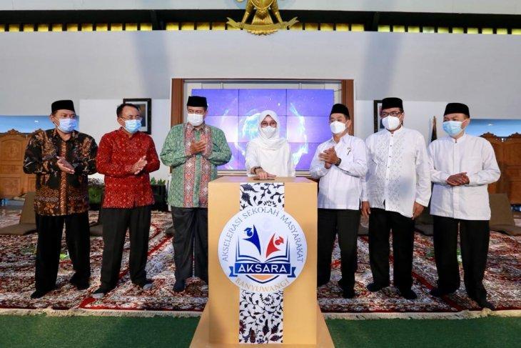 Hardiknas 2021, Pemkab Banyuwangi luncurkan program Aksara