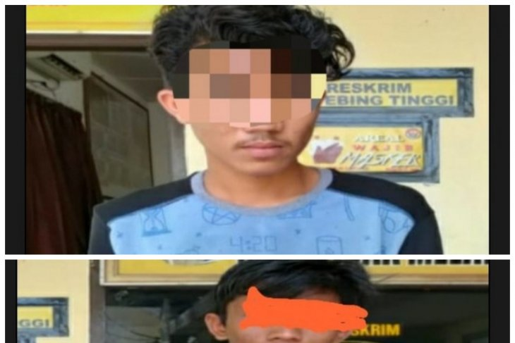 Dua pelaku pencuri HP ditangkap Polsek Tebing Tinggi