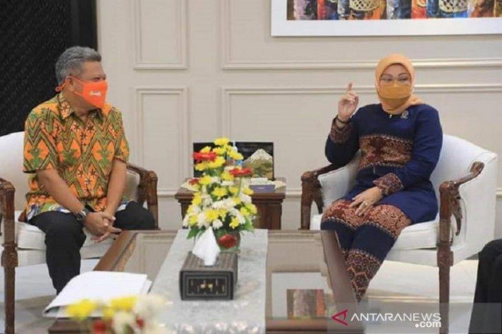 Bupati Muda bertemu Menteri Tenaga Kerja bahas pembangunan BLK UPTP