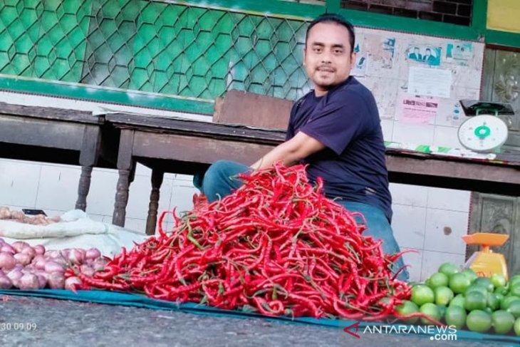 Harga cabai merah di Aceh Barat Daya turun