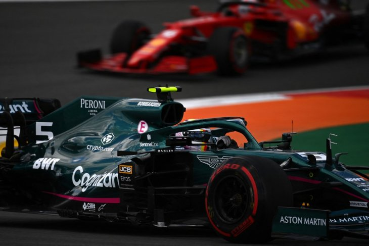 Vettel sedikit terhibur dengan hasil  kualifikasi GP Portugal