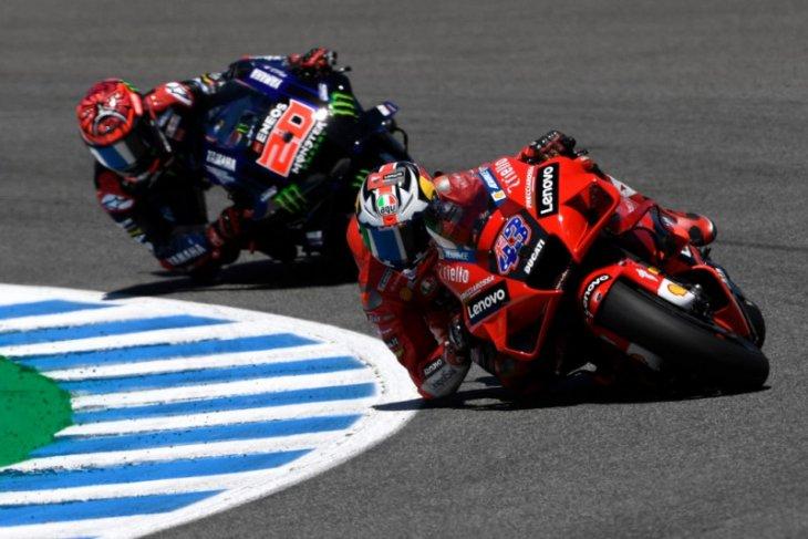MotoGP: Miller juara GP Spanyol saat Quartararo gagal hattrick di Jerez