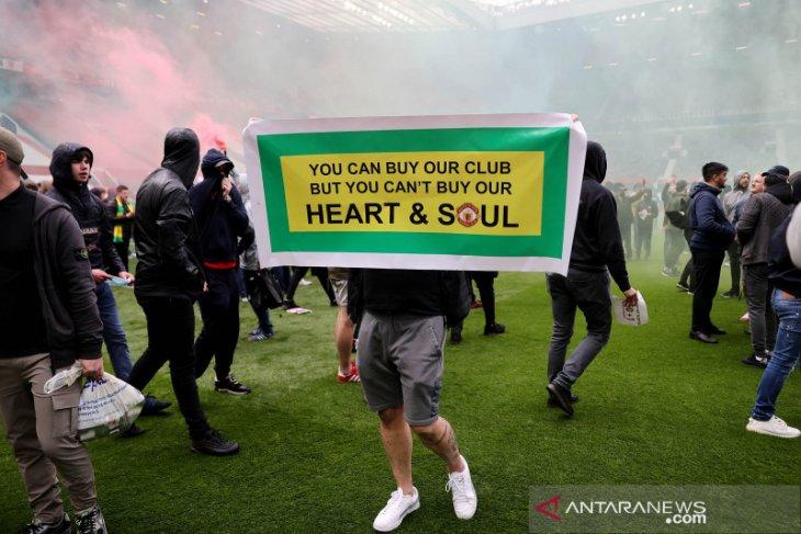 Liga Inggris: Laga MU lawan Liverpool dijadwal ulang ke 13 Mei