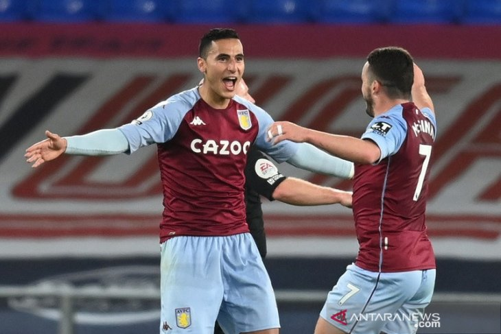 Liga Inggris: Aston Villa permalukan Everton di Goodison Park