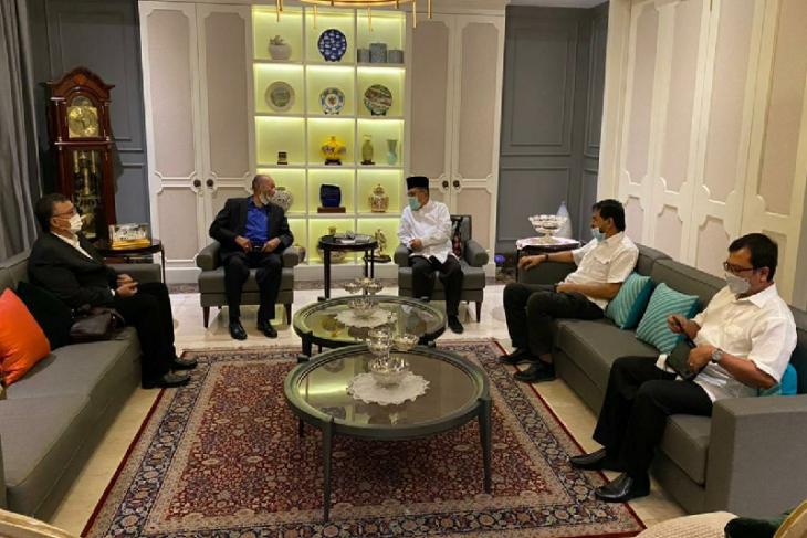 Jusuf Kalla janji akan bahas perkembangan Aceh dengan Presiden Jokowi