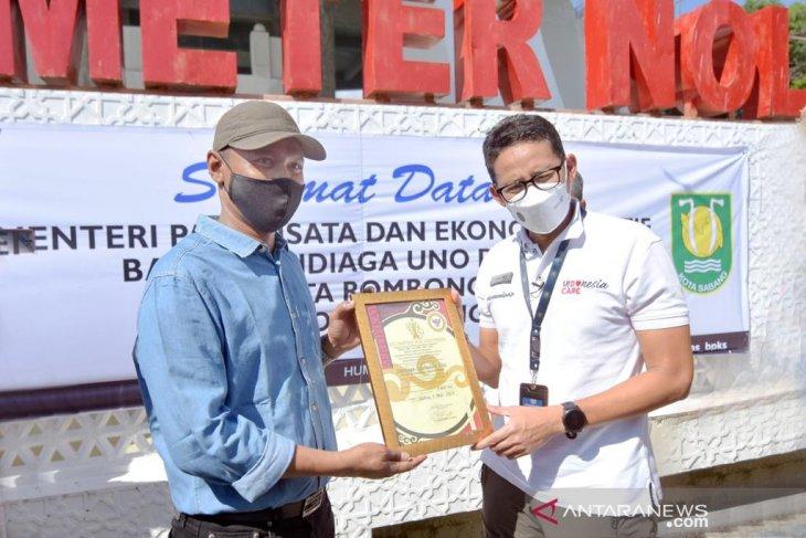 Wali kota Sabang sampaikan aspirasi ke Sandiaga Uno soal pariwisata