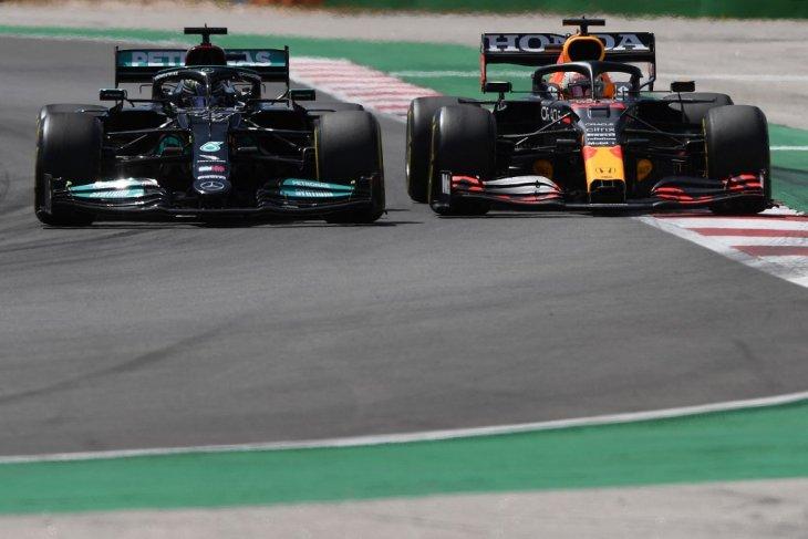 Verstappen: Red Bull tak cukup mengejar Mercedes di Portimao