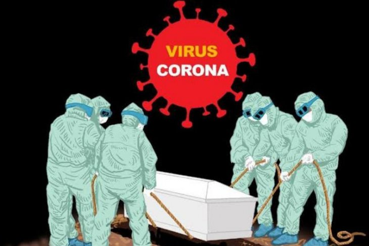 Kematian akibat COVID-19 di Sumut bertambah menjadi 976 kasus