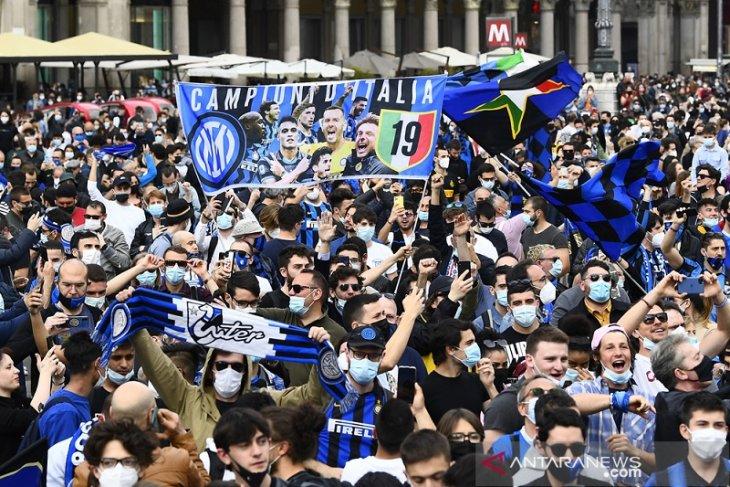 Daftar juara Liga Italia: Inter raih scudetto ke-19