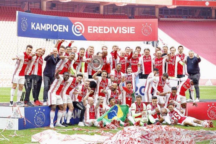 Klasemen Liga Belanda setelah Ajax raih gelar juara