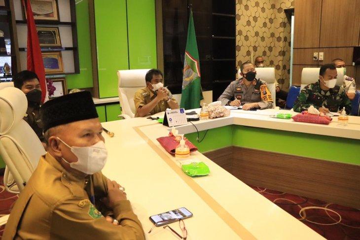 Wali Kota Binjai ikuti rakor secara daring dengan Mendagri