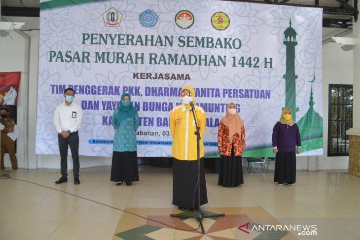 Pemkab Batola kembali bagikan ribuan sembako murah Ramadhan