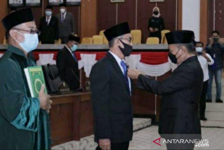 Edy Junaidi Foe Dilantik, Anggota DPRD Babel Lengkap 45 Orang