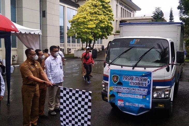 Pemprov Maluku gelar pasar murah keliling di 35 lokasi jelang Idul Fitri