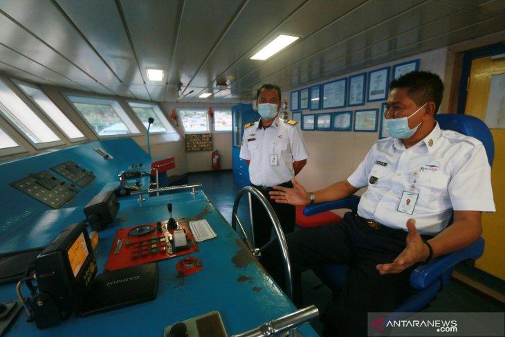KMP Moinit siap layani penumpang jelang Lebaran