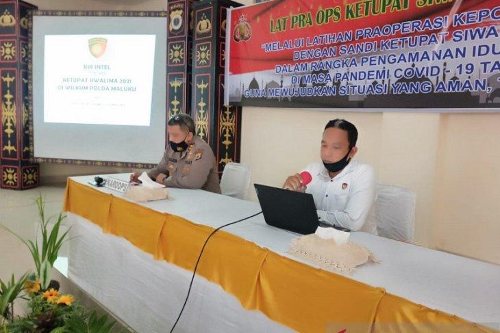 Polda Maluku laksanakan pra operasi ketupat 2021amankan perayaan Idul Fitri