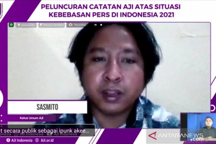 Aji: Pelaku kekerasan terhadap jurnalis didominasi polisi