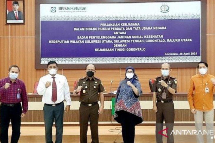 Kejati Gorontalo dukung program JKN-KIS melalui bantuan hukum