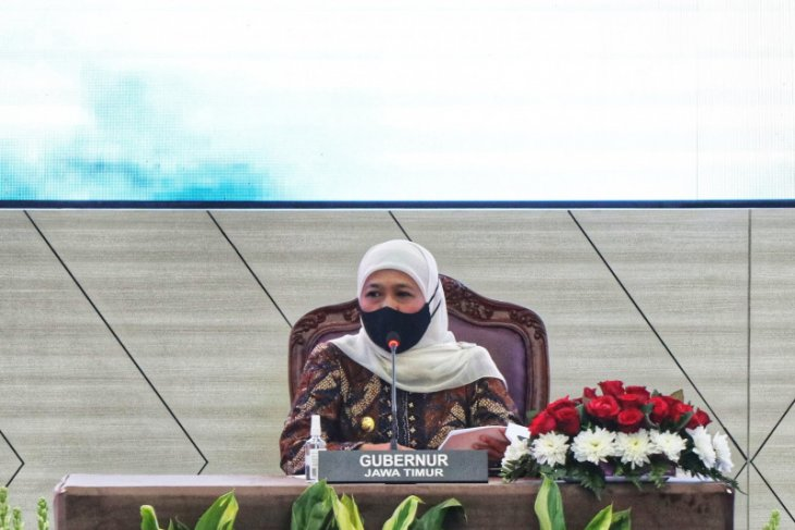 Gubernur Khofifah minta Bank Jatim dampingi UMKM tembus pasar luar negeri