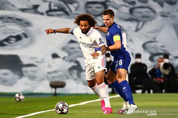 Marcelo tinggalkan tugas pemilu Madrid demi perkuat leg kedua kontra Chelsea