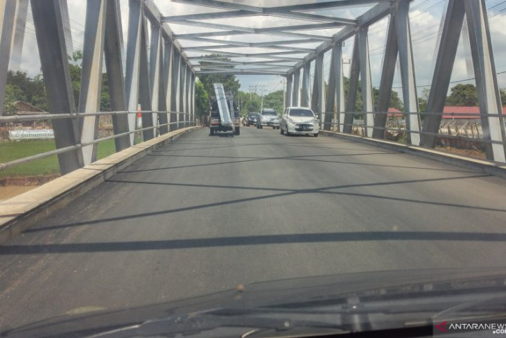 Jembatan Tabanio II Kelurahan Pabahanan sudah berfungsi