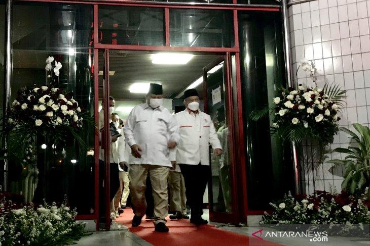Presiden PKS temui Prabowo sepakat jaga NKRI
