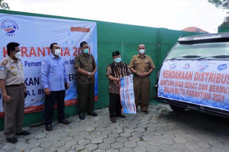 Balai KIPM Surabaya salurkan 900 paket ikan sehat bermutu di Madiun
