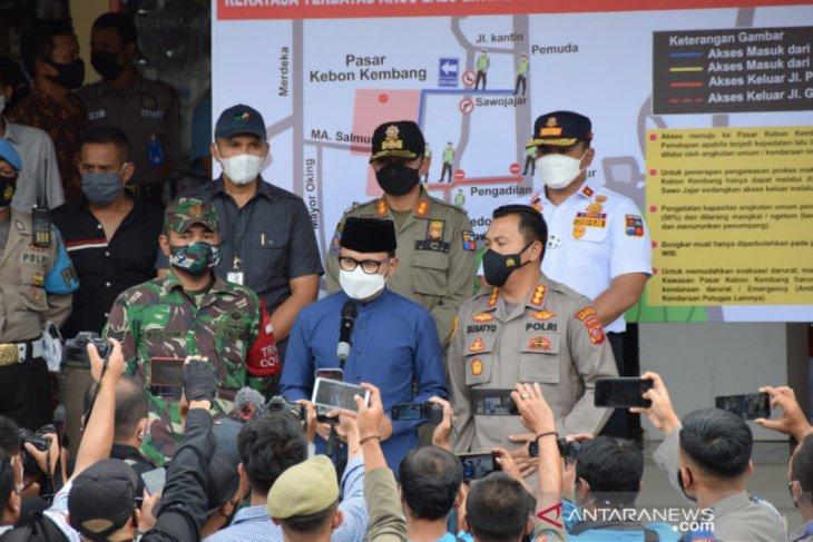 Wali Kota Bogor: Mal dan pasar bisa ditutup sementara jika terjadi kerumunan
