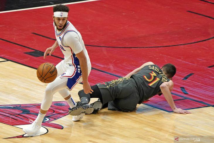 Playoff NBA, Sixers dengan mudah bungkam Wizards