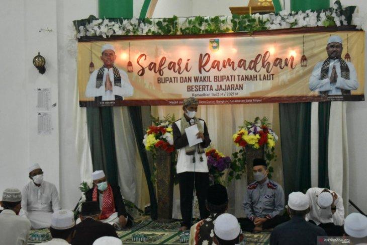 Bupati minta masyarakat Desa Durian Bungkuk tidak mudik