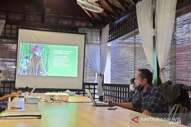 AILInst sebut  perusahaan HTI manfaatkan perhutanan sosial untuk pengembangan usaha