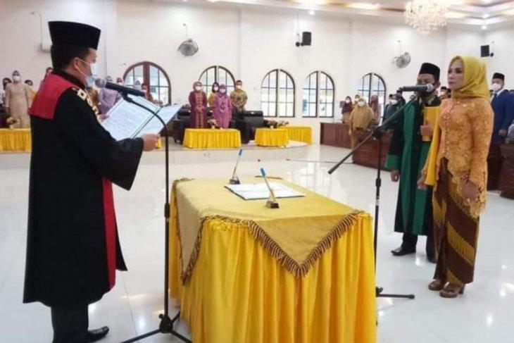 Adik kandung Bupati Langkat jadi Ketua DPRD setempat