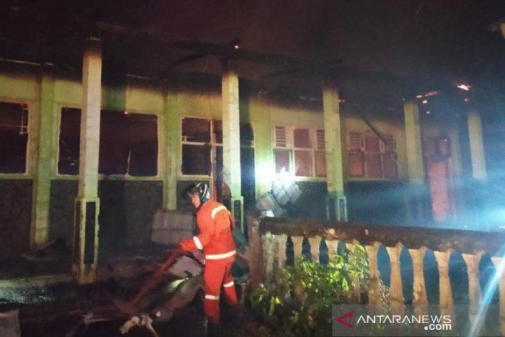 Polres Rejang Lebong selidiki penyebab kebakaran sekolah