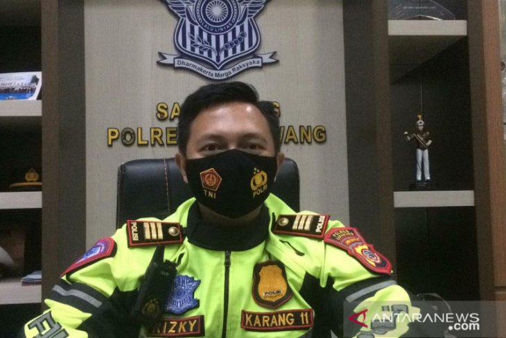Polisi siap terapkan penyekatan total di jalur mudik wilayah Karawang