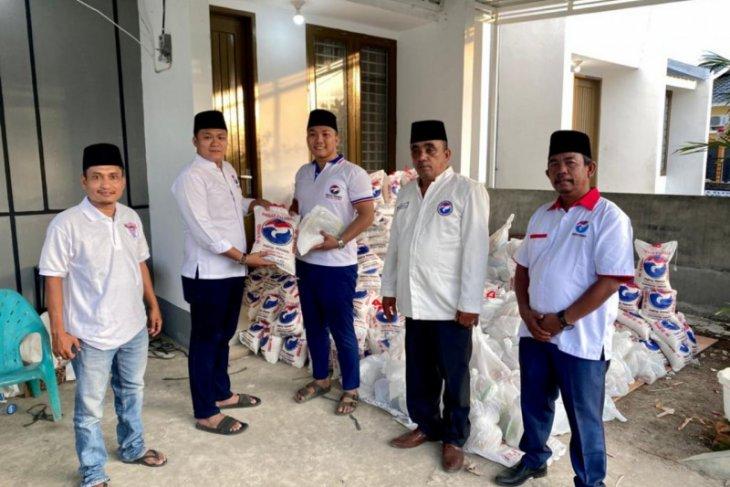 Partai Perindo Langkat bagikan 800 paket sembako