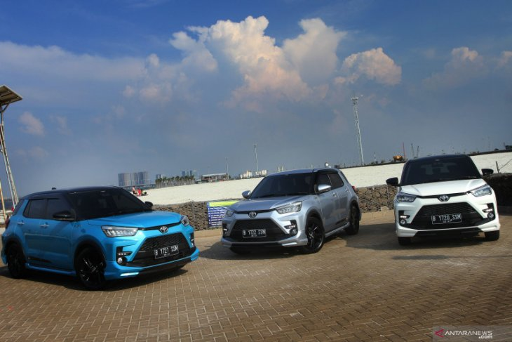 Sepekan diluncurkan, 1.269 unit Toyota Raize sudah dipesan