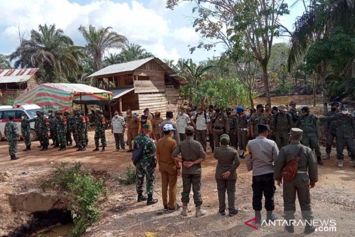 Tim gabungan gelar sosialisasi penertiban ilegal drilling di Batanghari