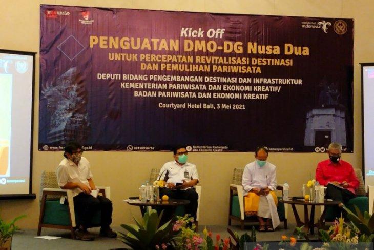 Di Bali, Kemenparekraf dorong peningkatan kualitas destinasi pariwisata dengan DMO-DG