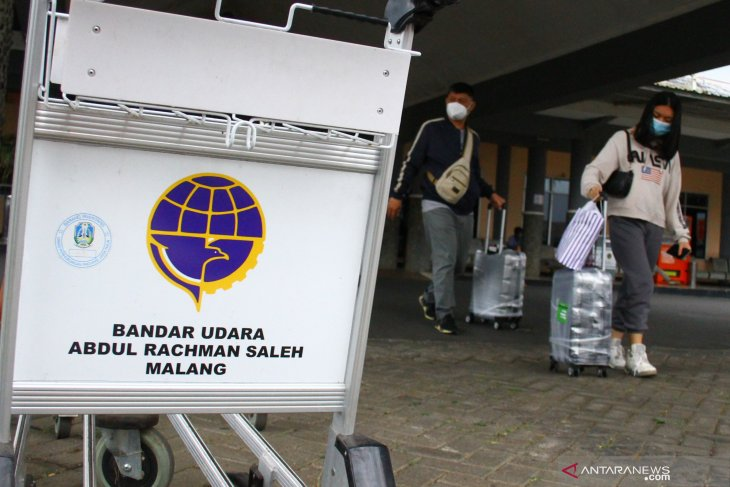 Mudik di Bandara Malang