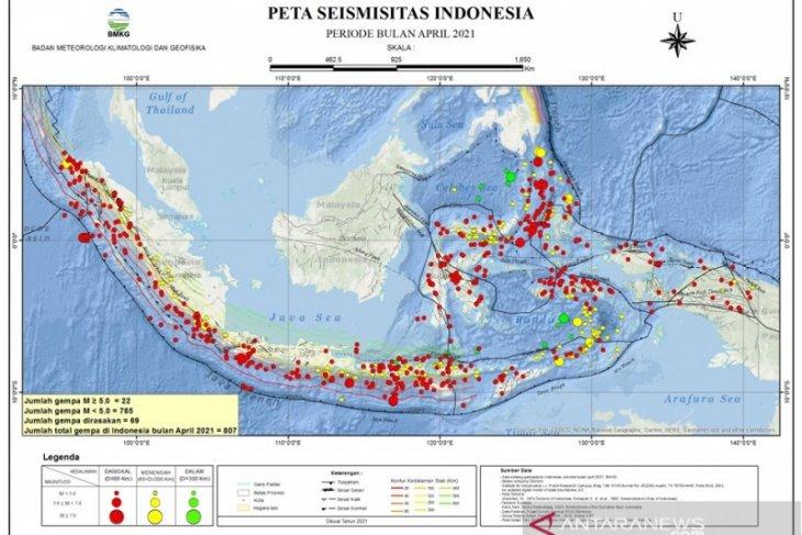 Gempa magnitudo 5,5 guncang Melonguane Sulawesi Utara