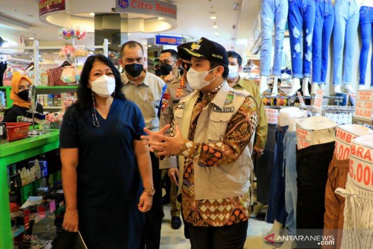 Pemkot Tangerang  beri sanksi tutup pusat belanja langgar protokol kesehatan