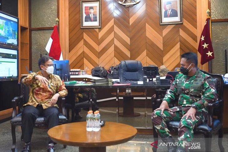 Kasad: Tenaga medis TNI AD bantu vaksinasi COVID-19 Kemenkes RI