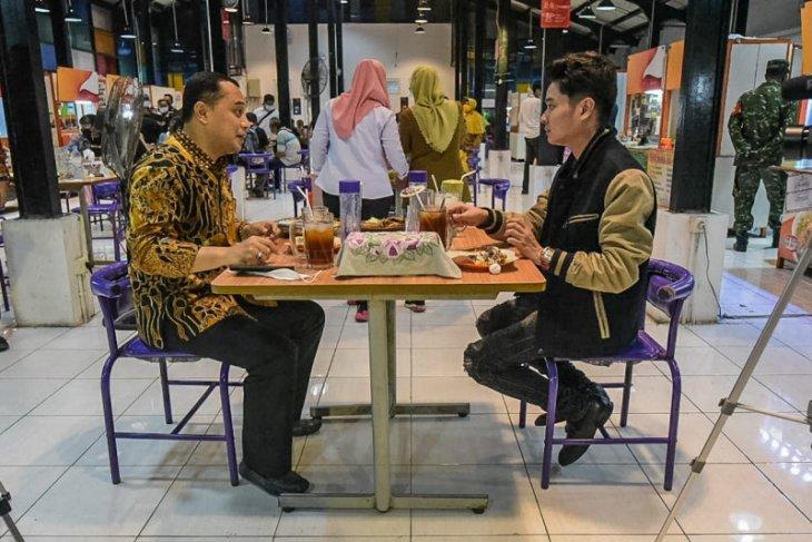 Wali Kota Eri promosikan sentra wisata kuliner Surabaya ke pengusaha muda